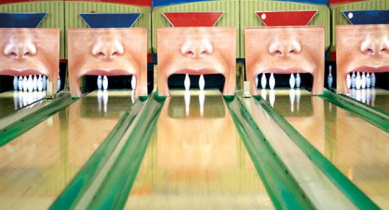 A Dentist's Bowling Alley