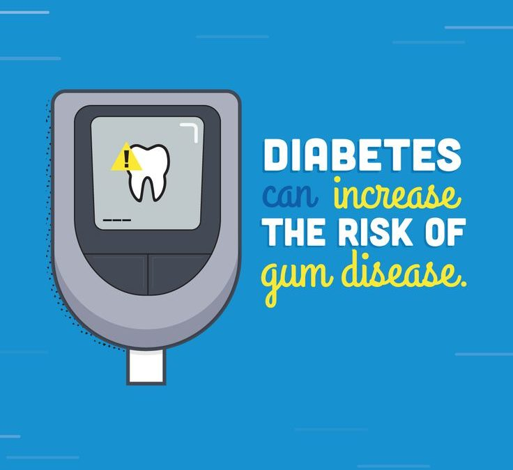 Diabetes is linked to Oral Health