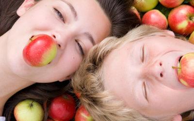 An apple a day won't keep the dentist away