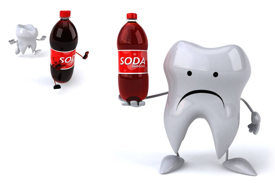 Sip Soda Drinks All Day? Expect Tooth Decay